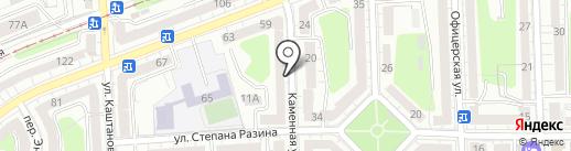 Кёнигсдент на карте Калининграда
