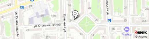 Честное право на карте Калининграда