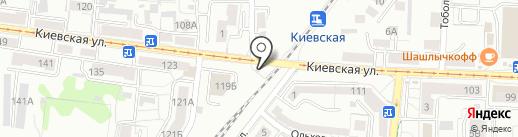 Магазин цветов и сувениров на карте Калининграда
