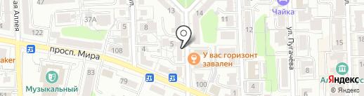 Sолнечный Dень на карте Калининграда
