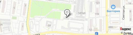 Матадор на карте Калининграда