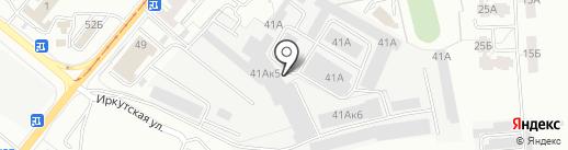 Эльф текстиль на карте Калининграда