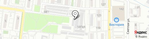 CHEVRON на карте Калининграда