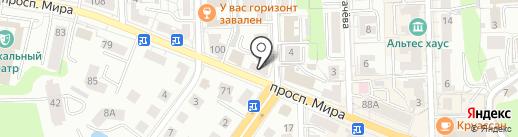 PROДЕКОР на карте Калининграда