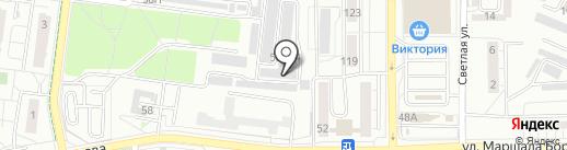 Автосервис 39 на карте Калининграда