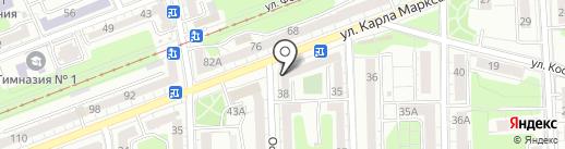 Qiwi на карте Калининграда