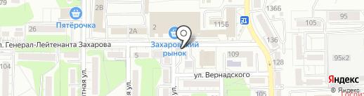 Жасмин на карте Калининграда