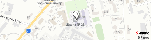 Союз на карте Калининграда