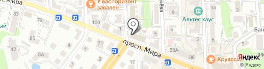 Интегратор на карте Калининграда