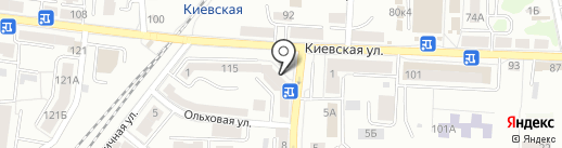 Пифагорка на карте Калининграда