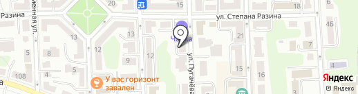 С-Класс Клининг на карте Калининграда