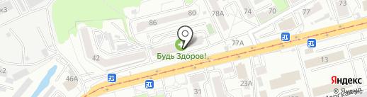 Дизайн-ателье на карте Калининграда