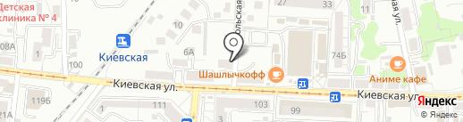 Банкомат, Сбербанк, ПАО на карте Калининграда