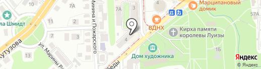 Sneaker Shop на карте Калининграда