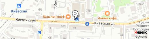 Нестеровский Маслосырзавод на карте Калининграда