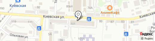 Smart_007 на карте Калининграда