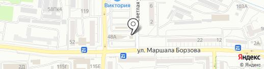 Мархамат на карте Калининграда