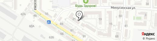 МКД Сервис на карте Калининграда