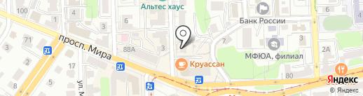 Кладовая Здоровья на карте Калининграда