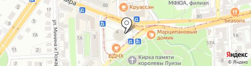 МАГАЗИНЦВЕТОВ39.РФ на карте Калининграда