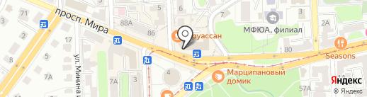 Оксфорд на карте Калининграда