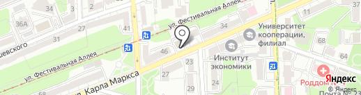 BootComp на карте Калининграда