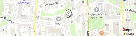 Бухгалтера и Ко на карте Калининграда