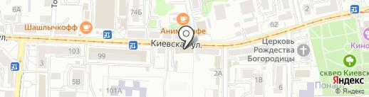 Объединенная санитарно-химическая лаборатория на карте Калининграда