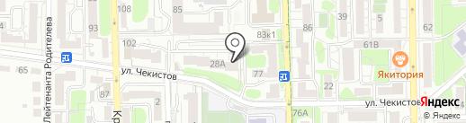 Nice на карте Калининграда