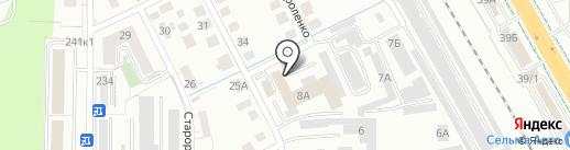 К-Рент на карте Калининграда