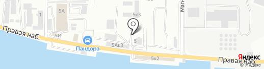 Балттехноком на карте Калининграда