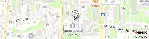 Чемпионика на карте Калининграда