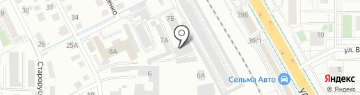 Nothing furniture на карте Калининграда
