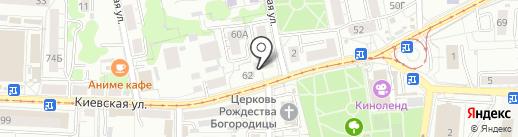 Вот это да! на карте Калининграда