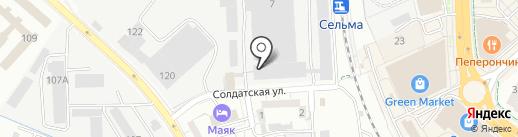 Экологическая группа на карте Калининграда