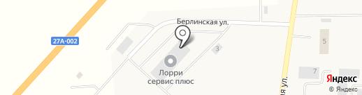 Zeppelin Russland на карте Поддубного