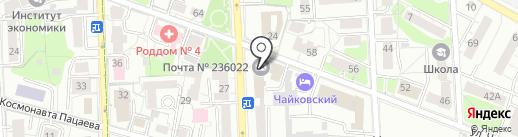 Перспективные Технологии на карте Калининграда