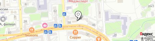 Центр оформления документов на карте Калининграда