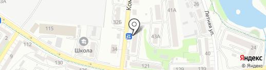 ПРООЧКИ на карте Калининграда
