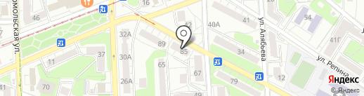Yuppie на карте Калининграда