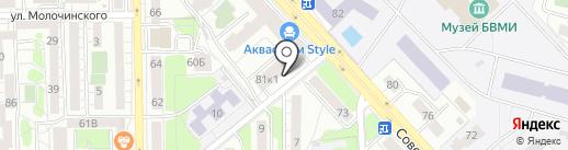 Ваш Кормилец на карте Калининграда