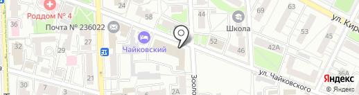 Калининградская дирекция российского агентства экономической безопасности и управления рискам, АНО на карте Калининграда
