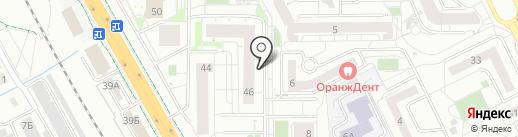 ЛАЗЕР39 на карте Калининграда