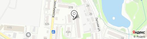 КПД-Калининград на карте Калининграда