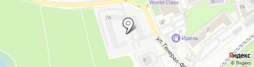 Автоспас на карте Калининграда