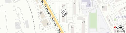 ФранцАвто на карте Калининграда