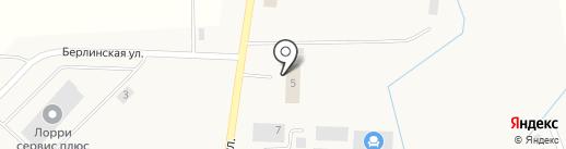 Алю-Строй на карте Поддубного