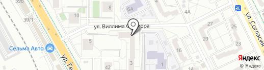 Роботрек на карте Калининграда