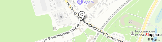 ШинСервис на карте Калининграда