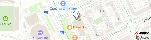 Технобаза на карте Калининграда